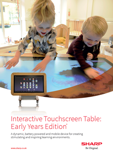 Interactive display for education